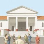 Cassinomagus-reconstitution entrée principale.