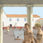 Cassinomagus-reconstitution piscine extérieure.
