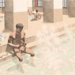 Cassinomagus-reconstitution bains chaud.