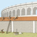 "Cassinomagus-reconstitution ""Theatre""."