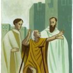 """La Bible"" 8/12 ans, Bayard jeunesse. P219-apotres"