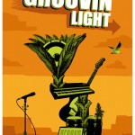 "Affiche A3. ""Groovin' Light"", 2009."