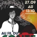 Affiche festival Au fil du conte 2013 - graphisme Histoire de Sign - illustration Patrice Cablat, 2013