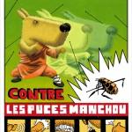 Poster Shaolin Toutou (70x100), Café Creed 2009.