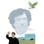 """Khadafi et Stallone."" Série Abrakhadafi - Impression jet d'encre 30x40 cm © Olivier & Patrice Cablat 2009."