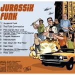 "Cd Digipack, arrière ""Jurassik Funk"". Tam attitudes, 2009."
