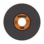 """Cd, façon vinyl """"Jurassik Funk"""". Tam attitudes, 2009."""