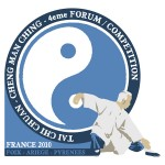 "Logo du ""Forum Cheng Man Ching"". Foix, 2010."