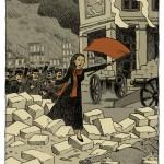 """""""Petites histoires de l'Histoire de France, Louise Michel"""". Mango jeunesse."""