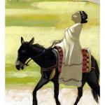 """""""Le Maroc amazight de Jalila"""" Acrylique sur toile, 2005."""