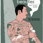 Luxe & Beauté - Exposition de sérigraphies, Atelier du Gratin, Café Creed, 2012.