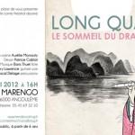 Annonce du spectacle pour sa première. Théâtre de poche Marengo, Angoulême 2012.